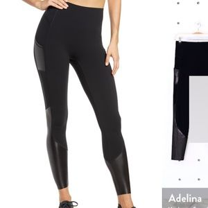 Spanx Every Wear Gloss Active Leggings XS